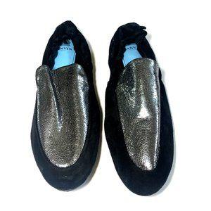 Lanvin Paris Suede Loafers